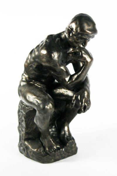 Photo of The Thinker Bronze Figure Large 26 cm (Auguste Rodin)
