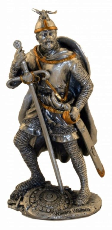 Photo of William Wallace Pewter Figurine
