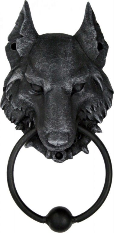 Photo of Wolf Gothic-Style Door Knocker