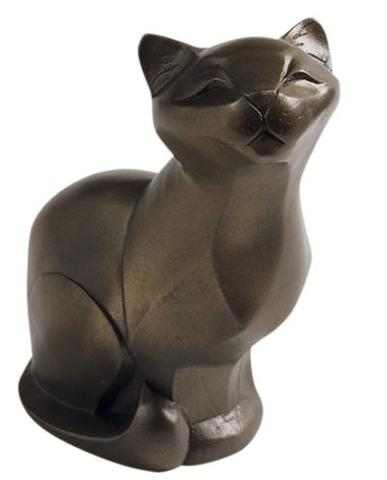 Photo of Cat Sitting Bronze Figurine (Arora Gallery Design Collection)