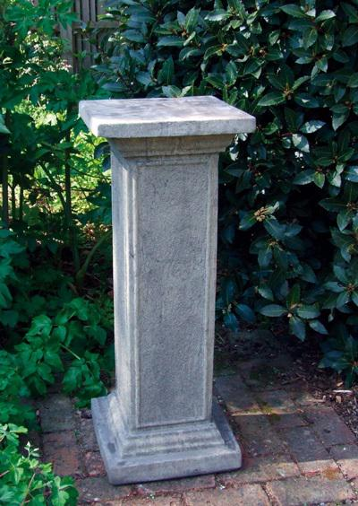 Photo of Athenian Stone Pedestal with Brass Armillary