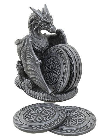 Photo of Black Dragon Coaster Set