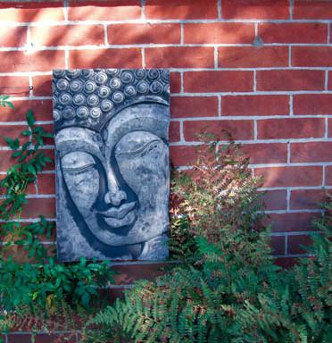 Photo of Buddha Stone Plaque Large