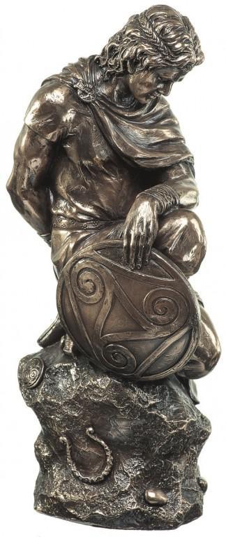 Photo of Celtic Warrior Bronze Figurine