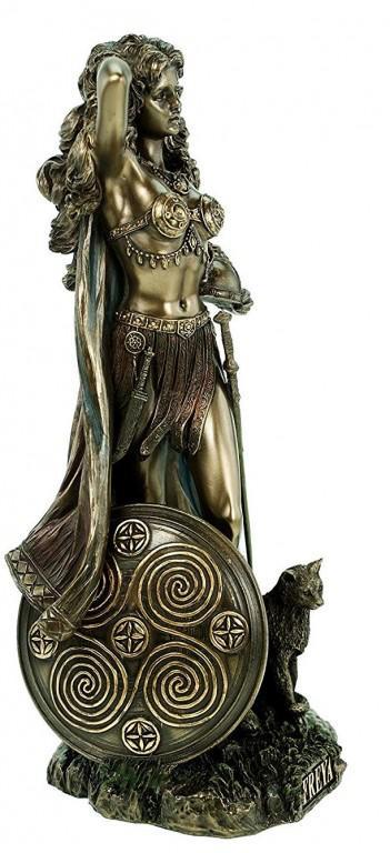 Photo of Freya Bronze Statue 27 cm