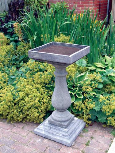 Photo of Large Baluster Stone Birdbath