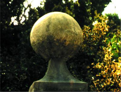 Photo of Large Stone Ball and Base