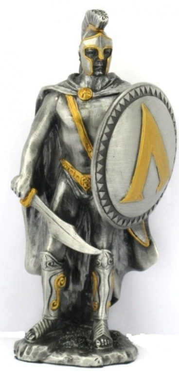 Photo of Spartan Warrior Pewter Figurine