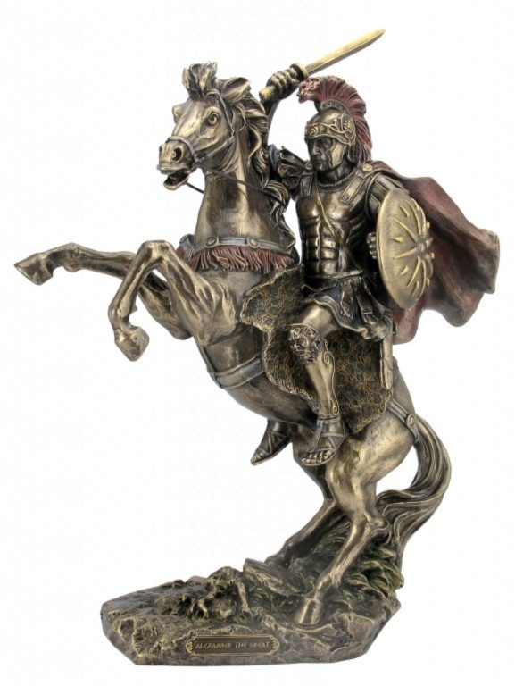 Photo of Alexander the Great Bronze Figurine
