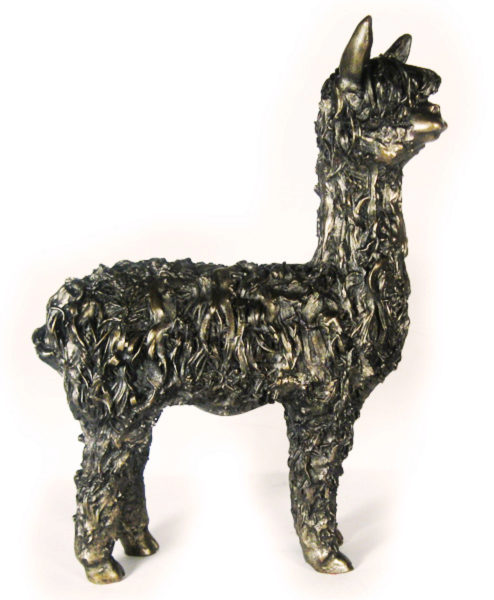 Photo of Alpaca Bronze Figurine