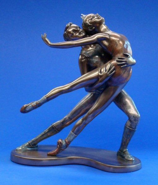 Photo of Ballet Bronze Figurine