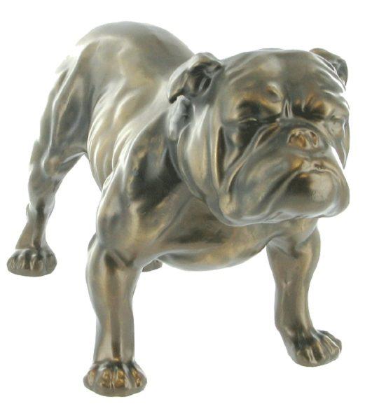 Photo of Bulldog Bronze Sculpture