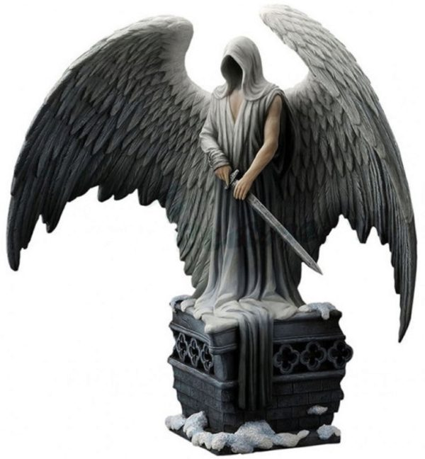 Photo of Cloaked Guardian Angel Figurine (L A Williams) 32.5cm