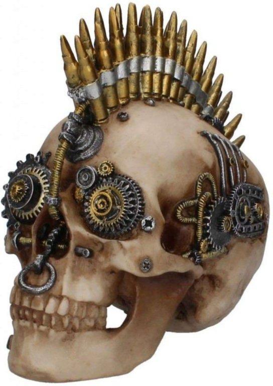 Photo of Clockwork Bullet Ornamental Skull 23cm Large
