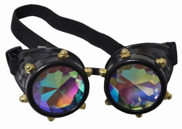 Photo of Crystal Vision Steampunk Goggles Costume Mask