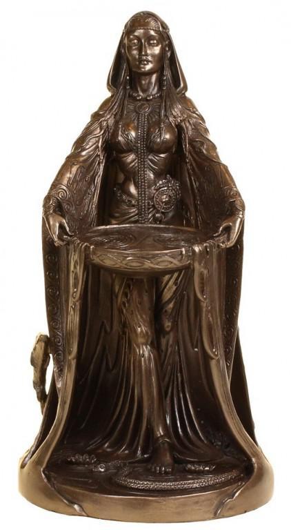 Photo of Danu Mother of the Gods Bronze Figurine 23 cm