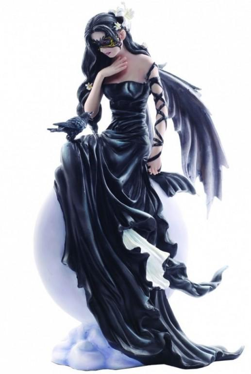 Photo of Dark Skies by Nene Thomas Gothic Fairy Figurine