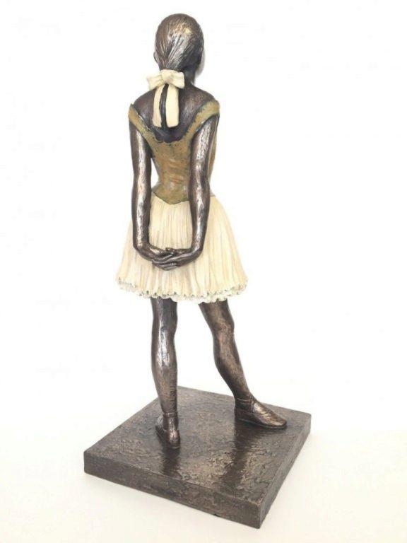 Photo of Degas Little Dancer Bronze Figurine Large 42cm