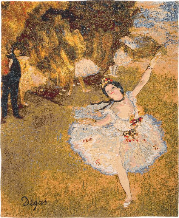 Phot of Edgar Degas Dance Wall Tapestry