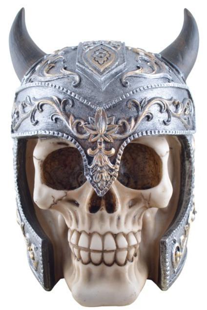 Photo of Elven Warrior Skull Ornament