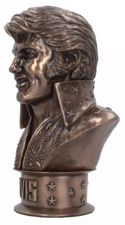 Photo of Elvis Bust Figurine 18cm