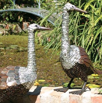 Photo of Goose Metal Garden Ornament