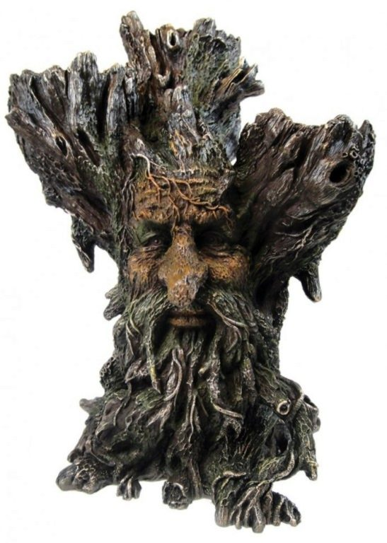 Photo of Green Man Tri Tealight Holder
