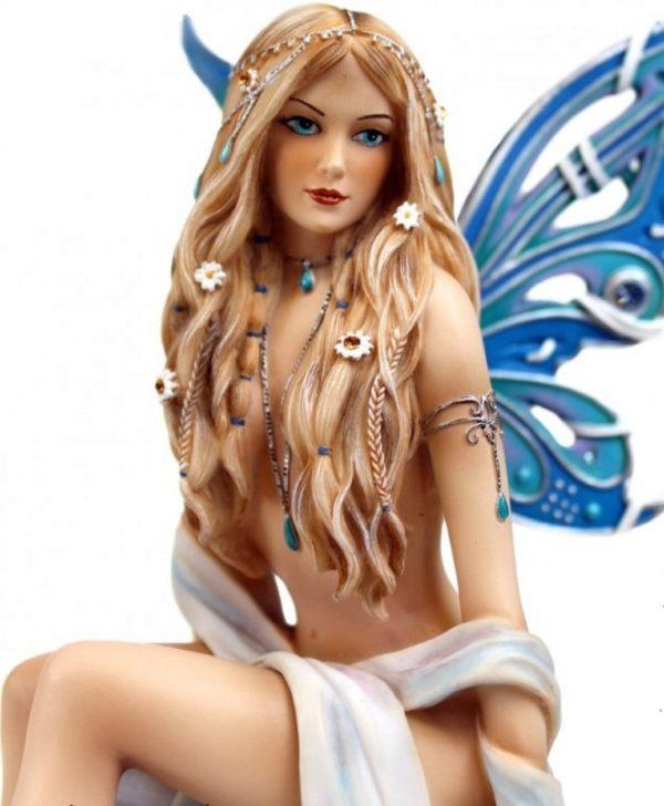 Photo of Jewelled Fairy Sapphire Figurine