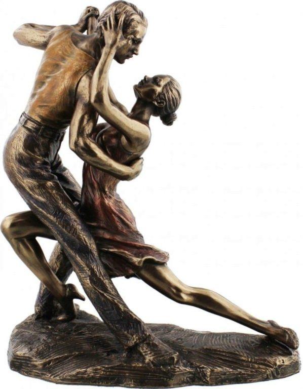 Photo of Juliana Tango Forward Bow Position Bronze Figurine