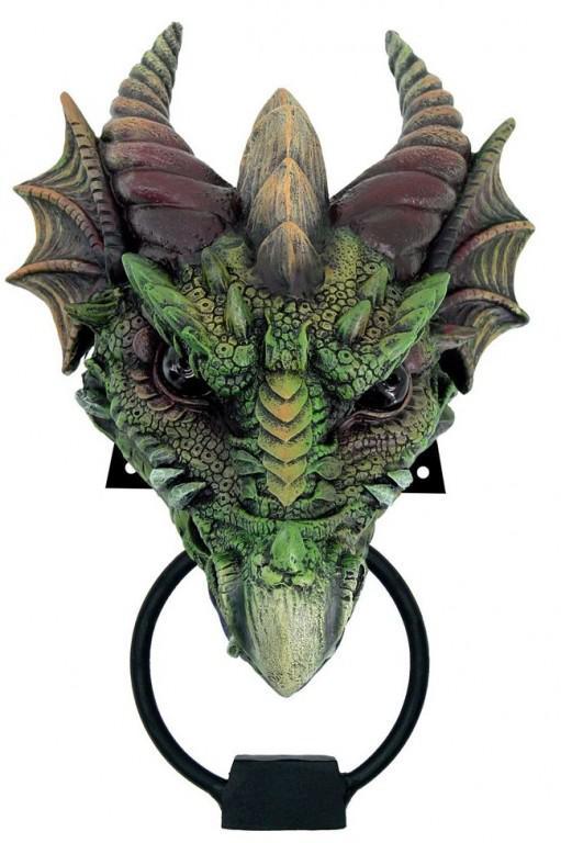 Photo of Kryst the Dragon Door Knocker