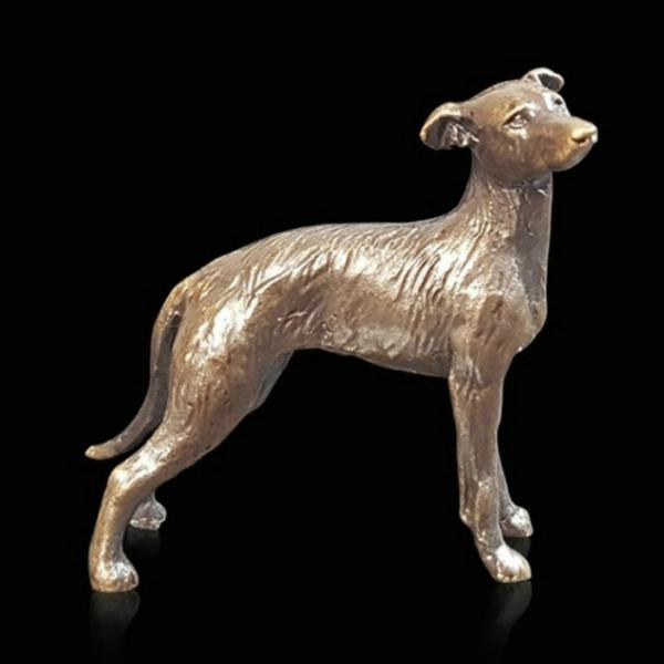 Photo of Lurcher Bronze Miniature (Butler and Peach)