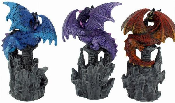 Photo of Protectors of the Keep Dragon Figurines (Set of 3)