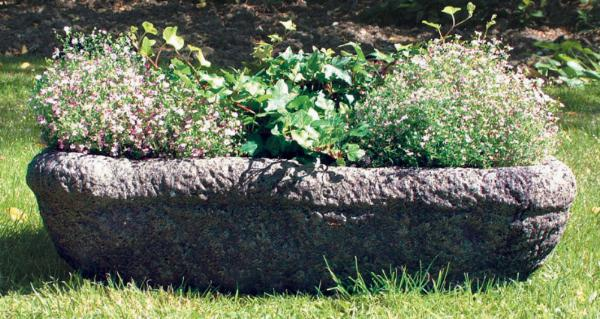 Photo of Shire Stone Trough with Feet