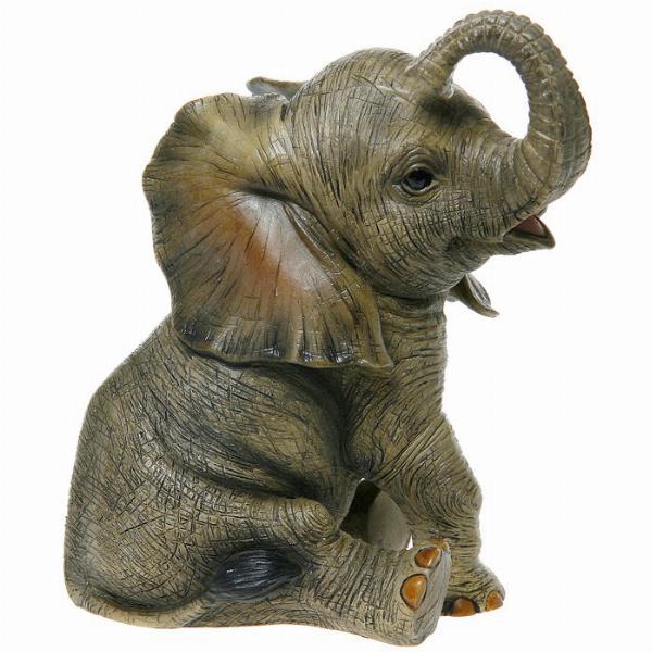 Photo of Sitting Elephant Leonardo Collection