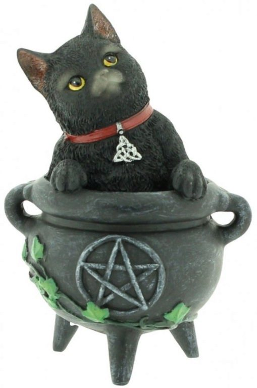 Photo of Smudge Black Cat Figurine 12cm