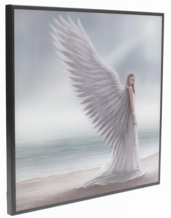 Photo of Spirit Guide Crystal Clear Angel Picture (Anne Stokes)