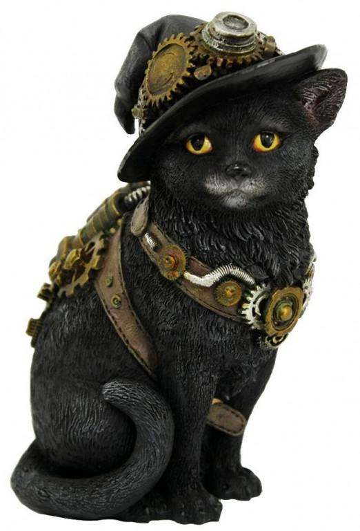 Photo of Steampunk Kitty Figurine