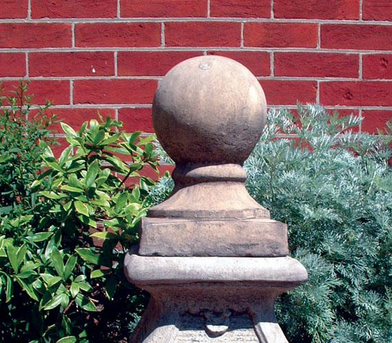 Photo of Stone Ball and Base