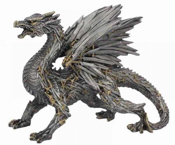 Photo of Sword Dragon Figurine 30 cm