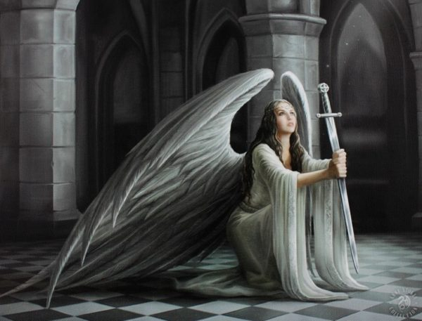 Photo of The Blessing Angel Figurine (Anne Stokes)