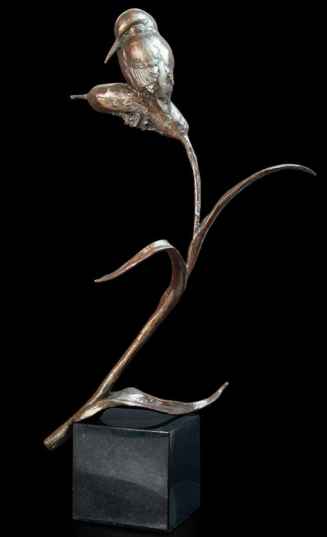 Photo of The Kingfisher Figurine (Limited Edition) Michael Simpson 27 cm