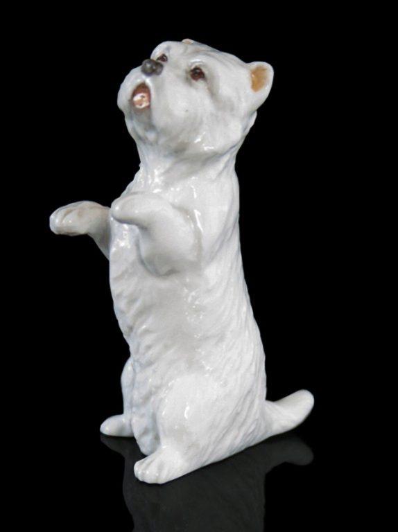 Photo of Westie Hand Painted Fine Bone China Miniature Figurine