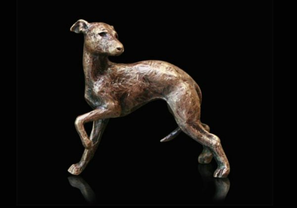 Photo of Whippet Bronze Miniature (Butler and Peach)