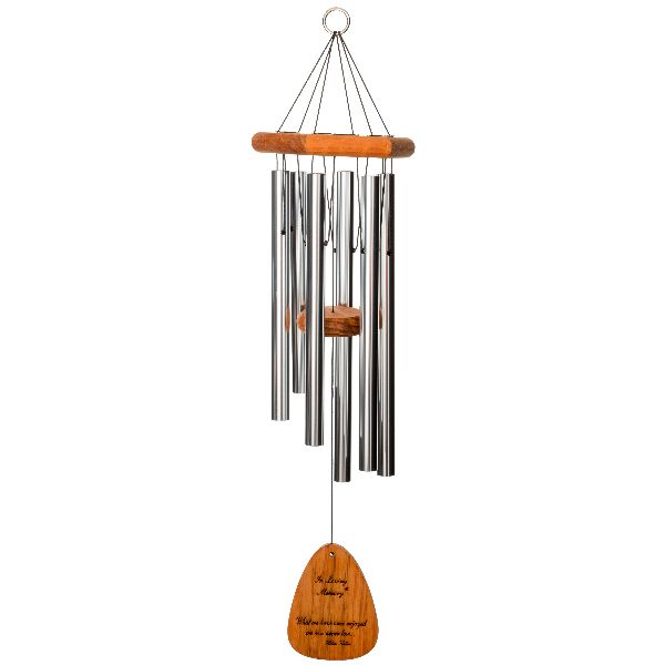 Phot of With You Always - in Loving Memory Memorial 30 Inch Wind Chime