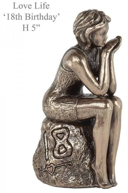 Photo of 18th Birthday Bronze Figurine