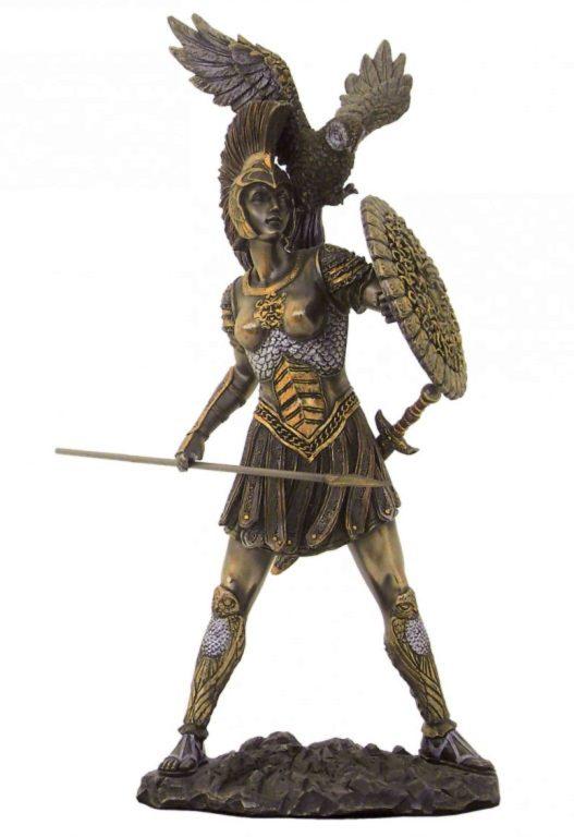 Photo of Athena Bronze Statue