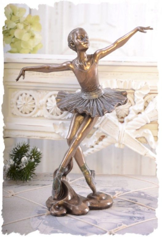 Photo of Ballerina Beautiful Dance Bronze Figurine