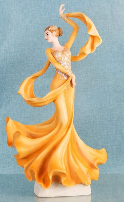Photo of Ballroom Dancer Lady Figurine Juliana 35 cm