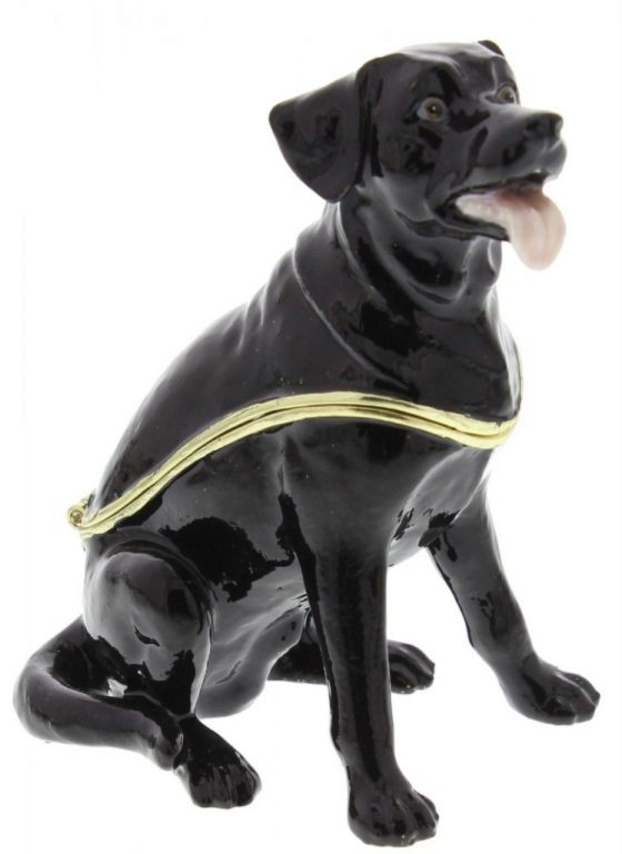 Photo of Black Labrador Treasured Trinkets by Juliana Collectable