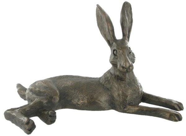 Photo of Bluebell Hare Bronze Sculpture (Harriet Glen)